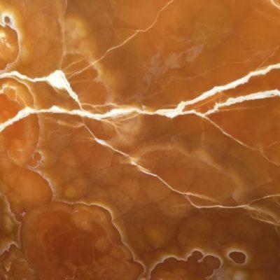 Piedra natural mármol con poca veta de color miel, anaranjado ONYX CARAMELO