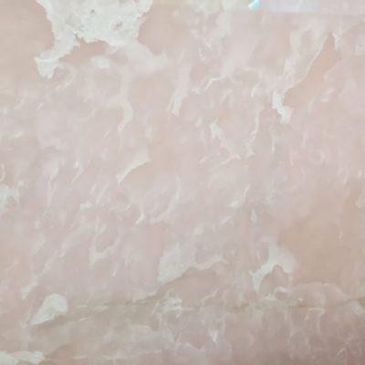 Piedra natural mármol con aspecto suave de color rosa ONYX ROSA