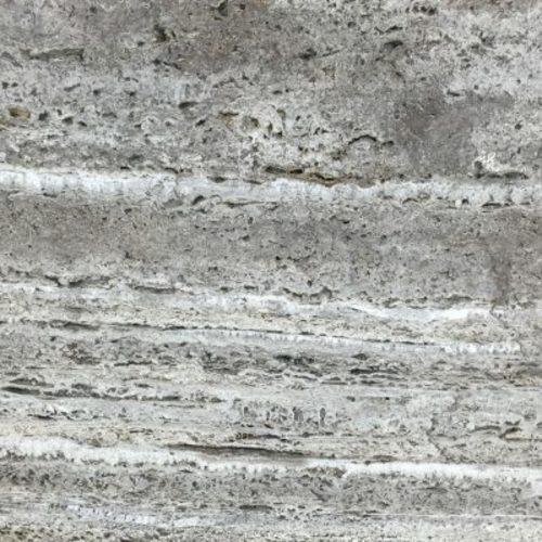 Piedra natural mármol con aspecto brillante de color gris TRAVERTINO NOCHE