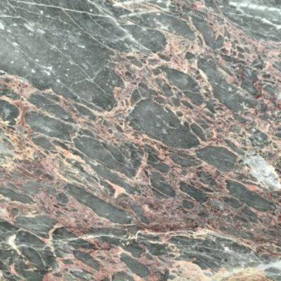 Piedra natural mármol de tonalidades de color gris y rosa SALOME