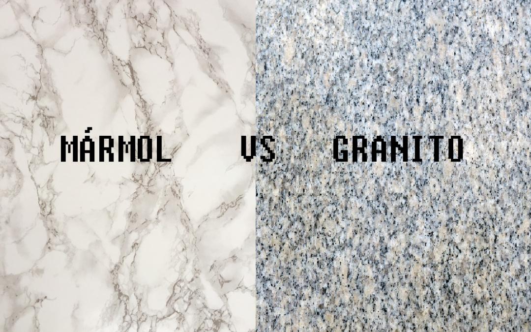 Mármol vs Granito, ¿cuál es la diferencia?